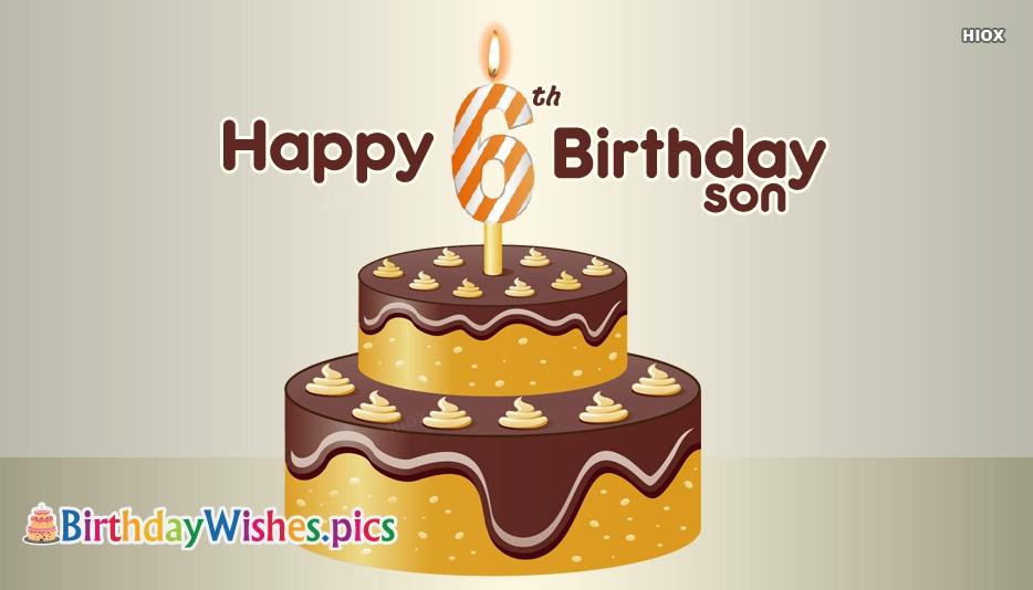 Happy 6th Birthday Images