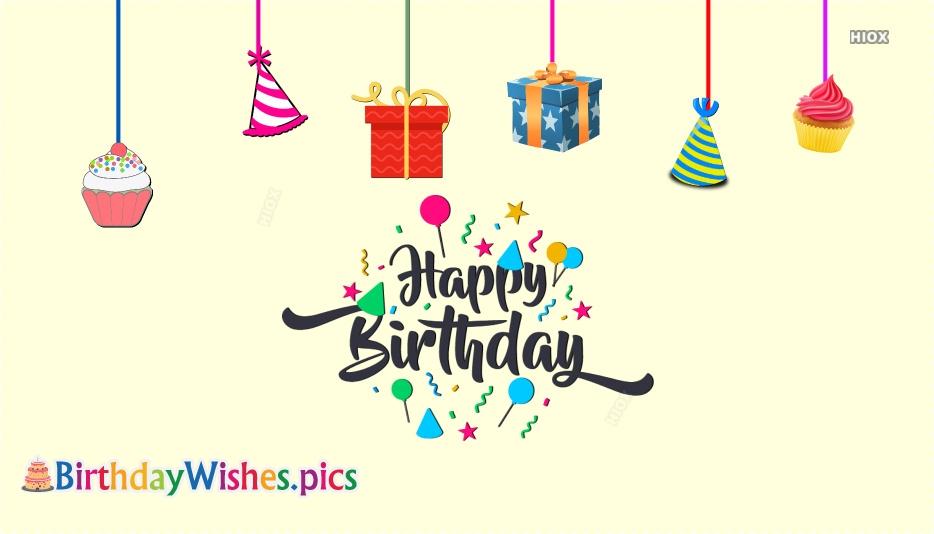 Happy Birthday Glitter Images
