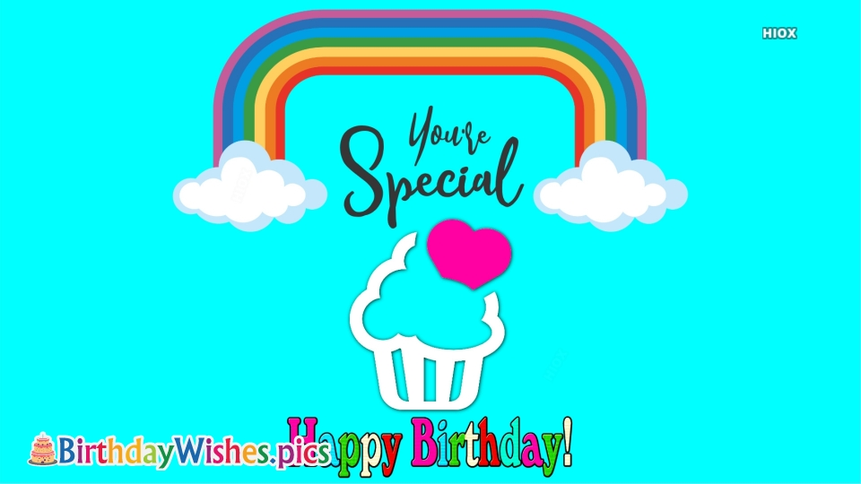 Birthday Greetings to Someone Special