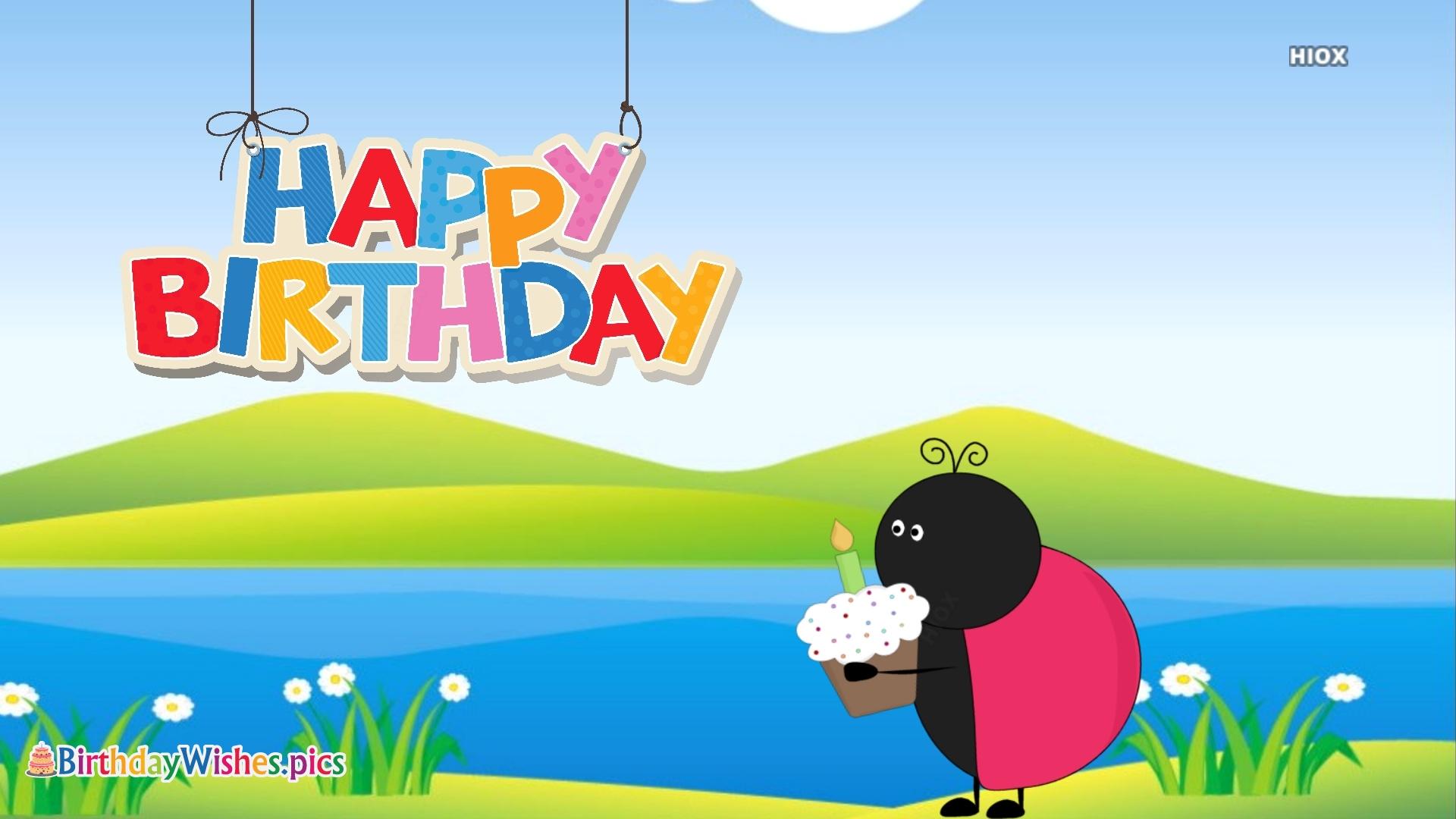 Birthday Wishes Cartoon
