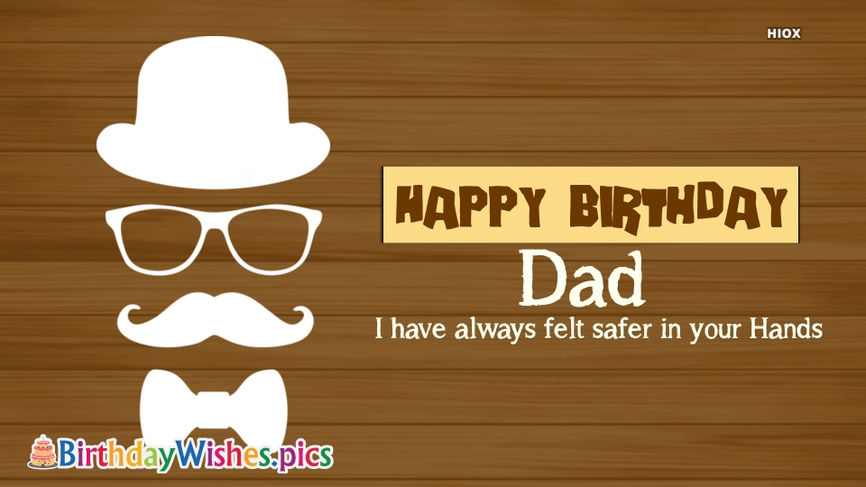 Birthday Wishes Images for Daddy