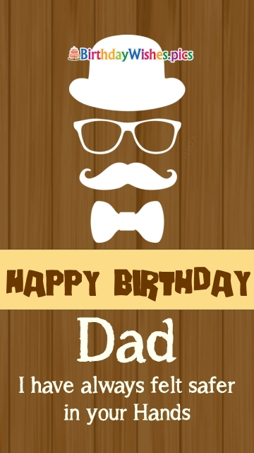 Birthday Wishes Dad