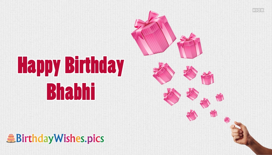 Birthday Wishes For Bhabhi (Happy Birthday Bhabhi)