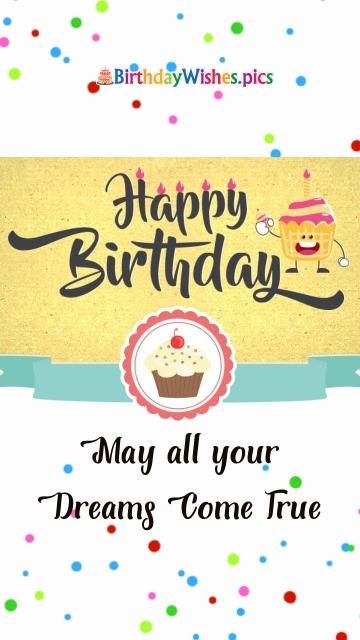 Birthday Wishes Happy Birthday