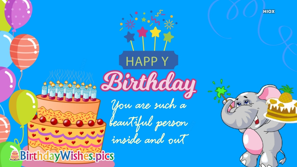 Birthday Wishes Note