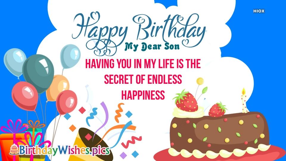 Birthday Wishes Son