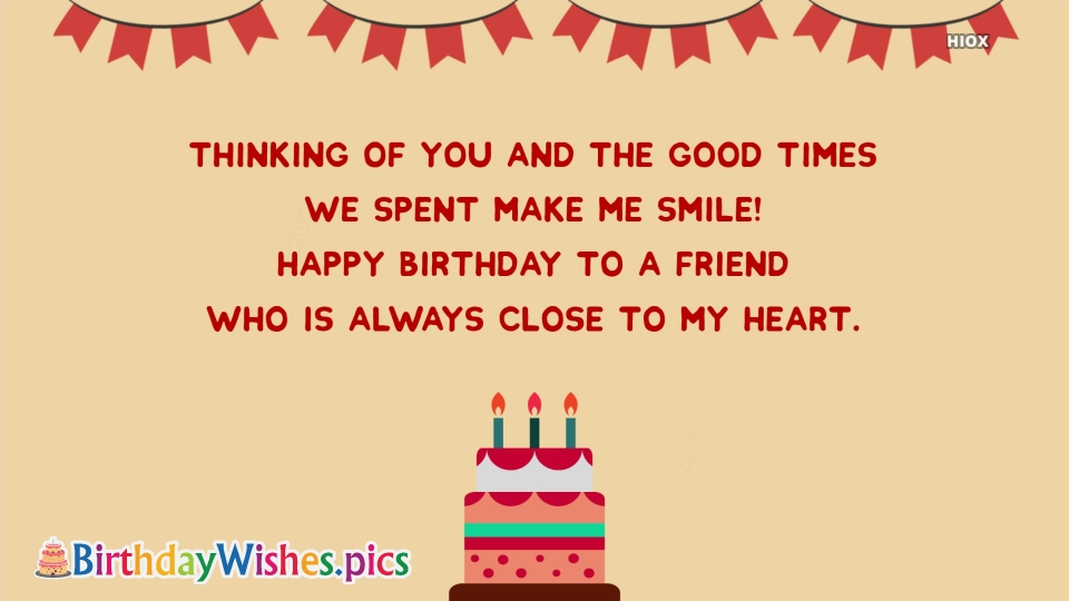 Birthday Wishes Images for Close To Heart