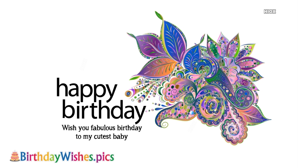 Birthday Wishes Images for Girl Child