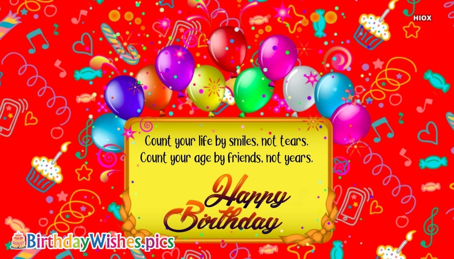 Birthday Wishes For Friend | Happy Birthday Friend Images