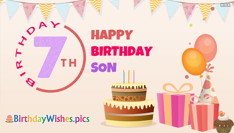 Happy 7th Birthday Images
