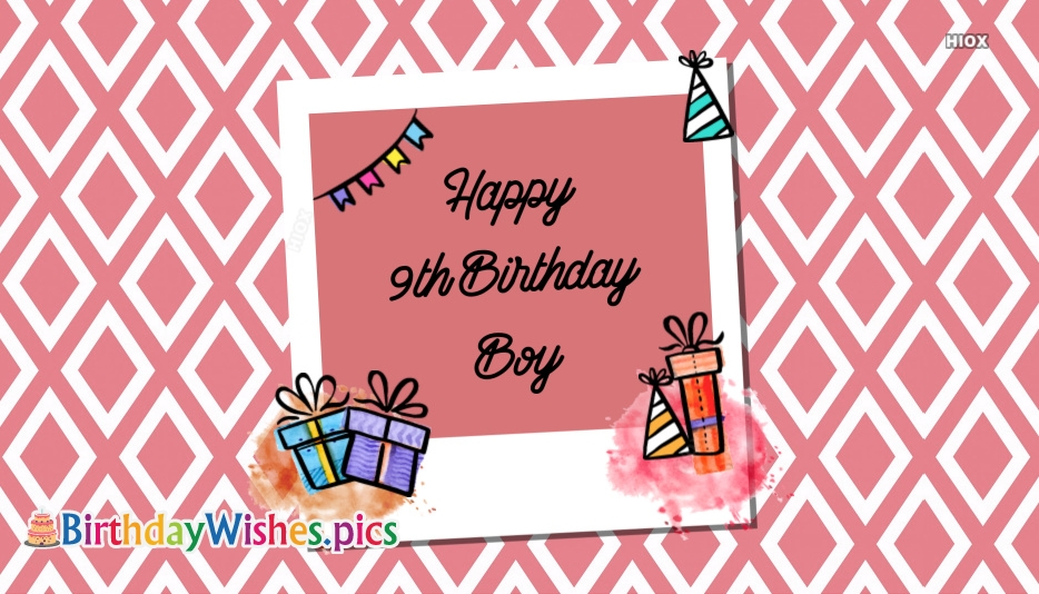 Happy Birthday Boy Images