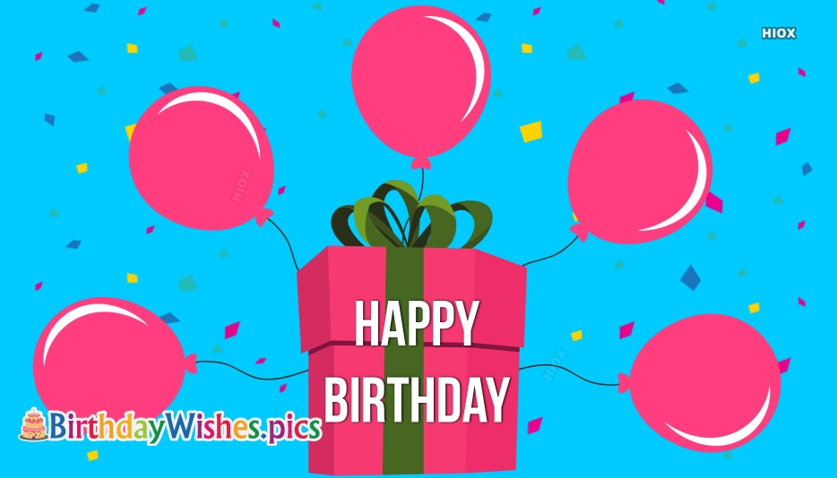 Happy Birthday Balloons Images Free Download