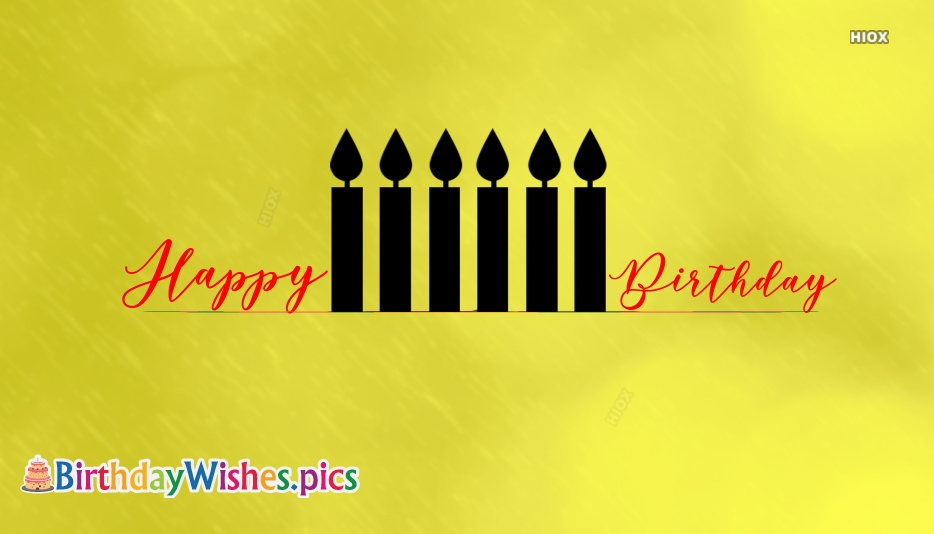 Happy Birthday Candle Images