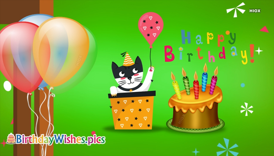 Birthday Wishes With Cartoon Images