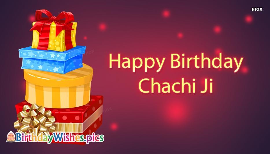 Happy Birthday Chachi Ji