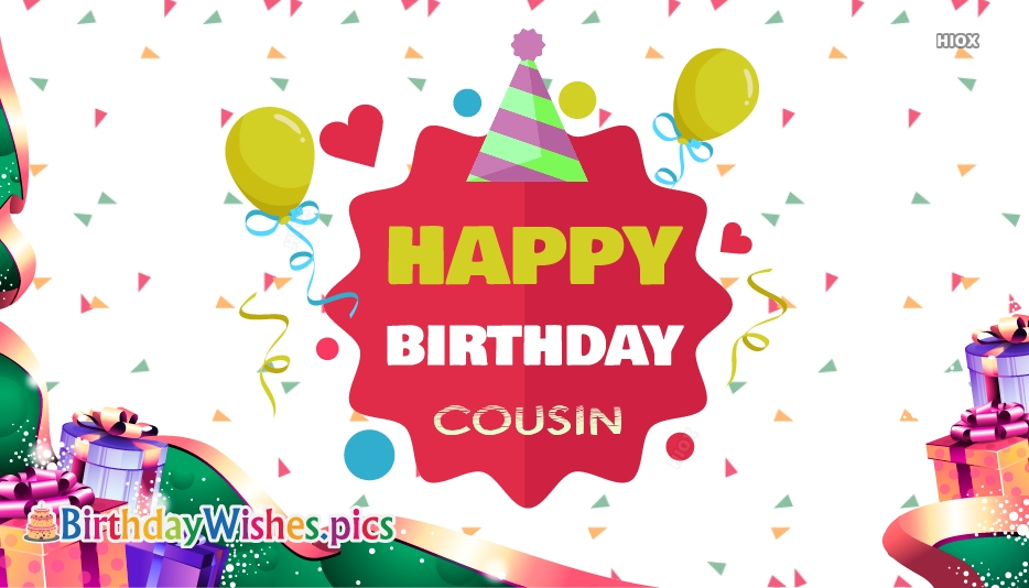 Happy Birthday Wishes For Cousin With Images