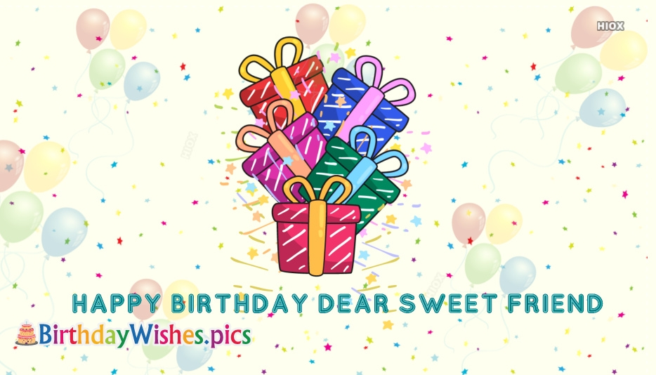 Birthday Wishes With Gifts Images