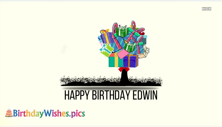 Happy Birthday Edwin