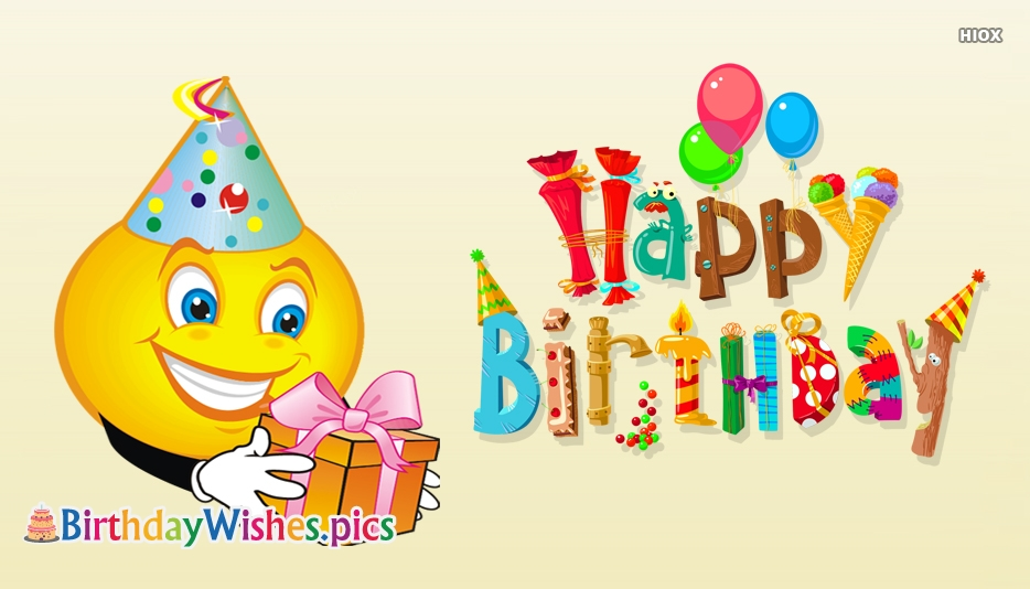 Happy Birthday Smiley Images