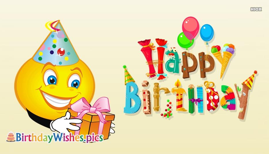 Happy Birthday Emoji Images