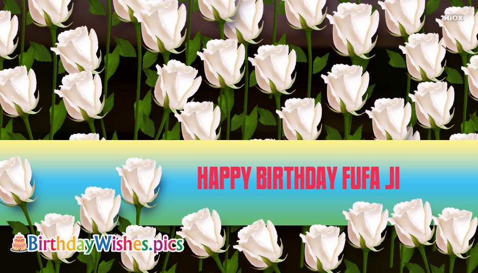 Happy Birthday Fufa Ji Wallpaper