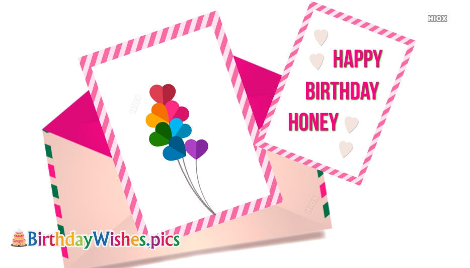 Birthday Wishes Images For Honey