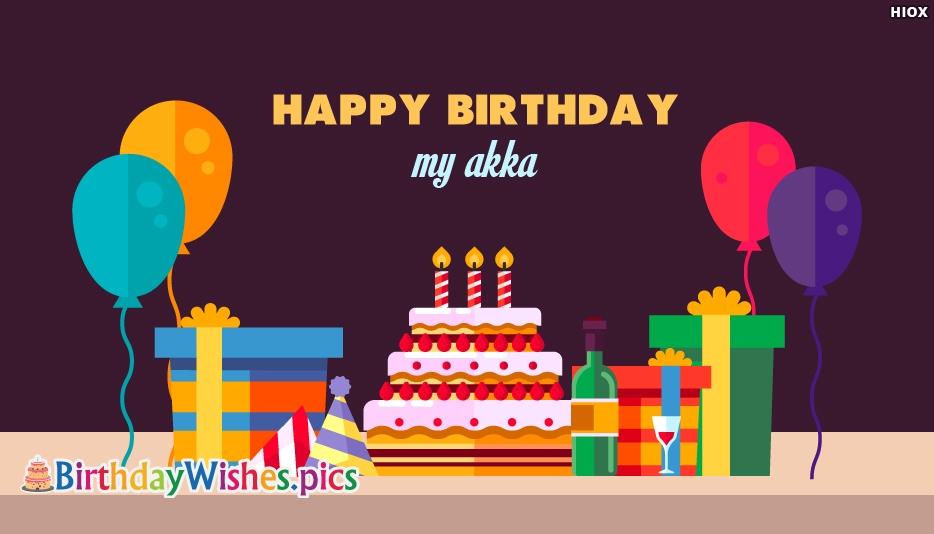 Happy Birthday My Akka