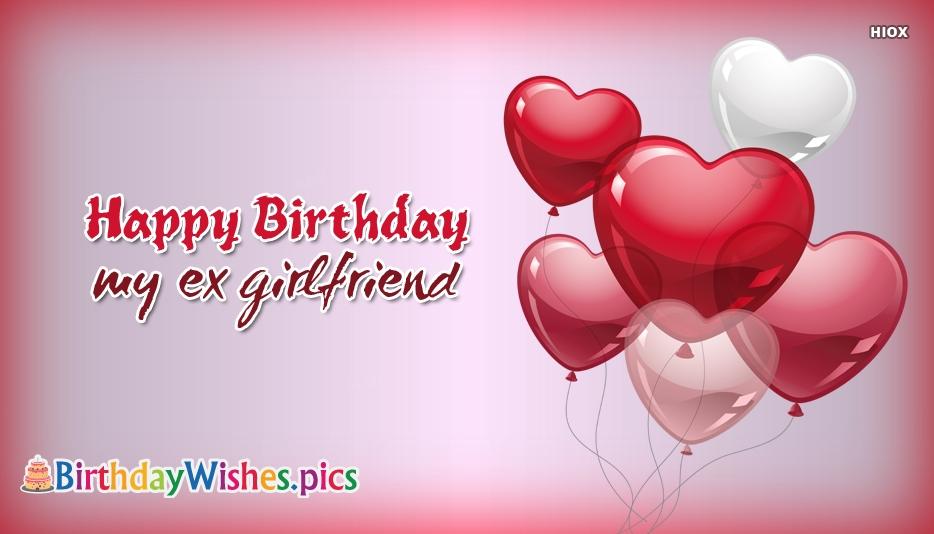 how to wish ex girlfriend happy birthday