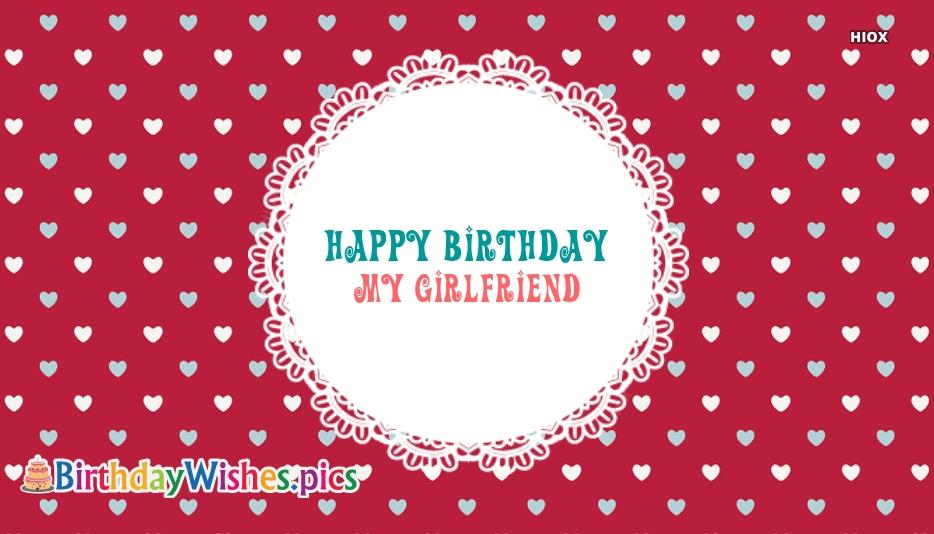 Happy Birthday My Girlfriend