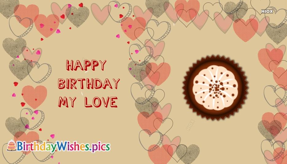 Happy Birthday My Lover