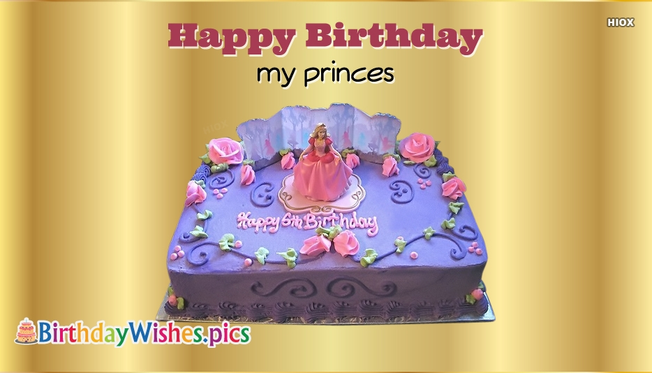 Happy Birthday My Princess