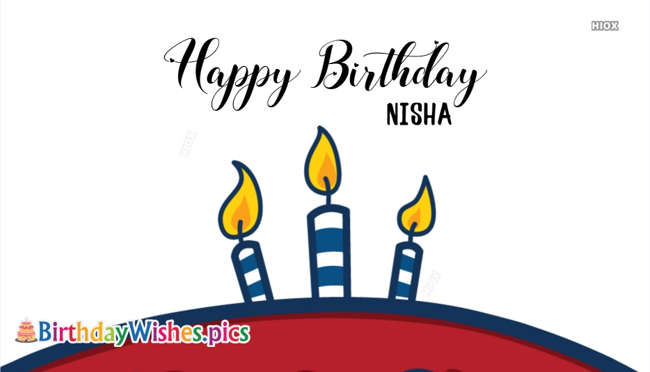 Happy Birthday Nisha