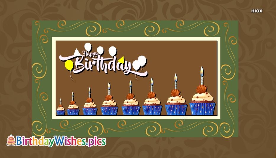 Happy Birthday On Cake