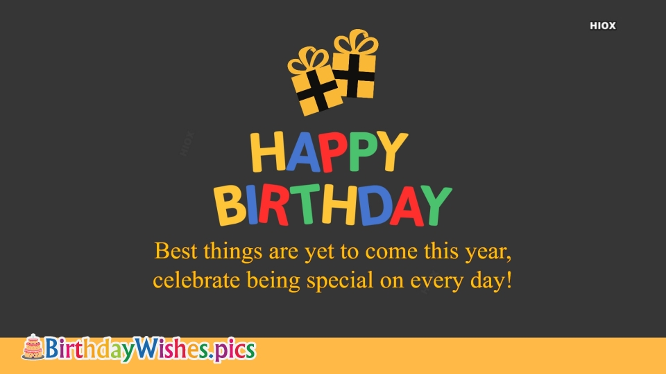 Birthday Wishes Images for For Him