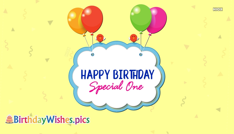 Happy Birthday Special Friend Images, Quotes