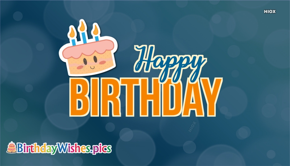 Birthday Wishes Images for Wallpaper