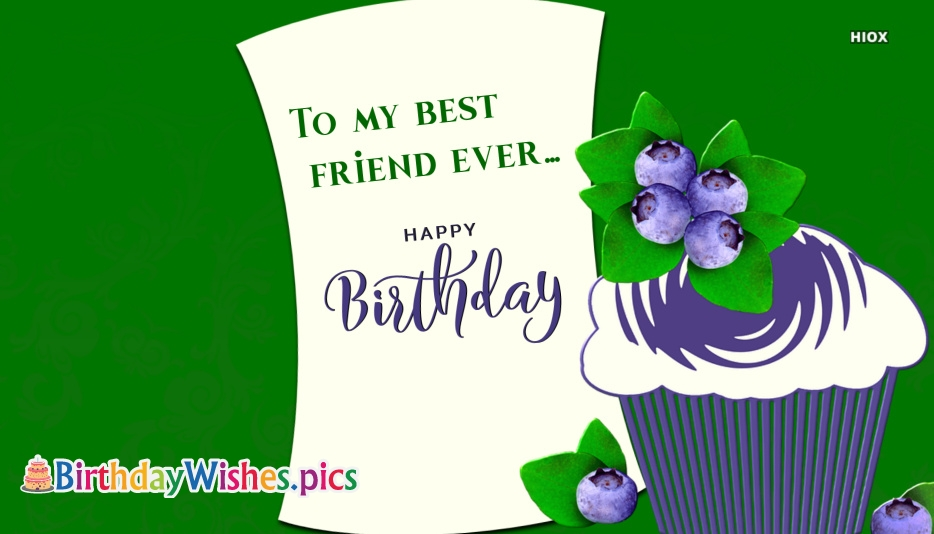 Happy Birthday Images To Close Friend