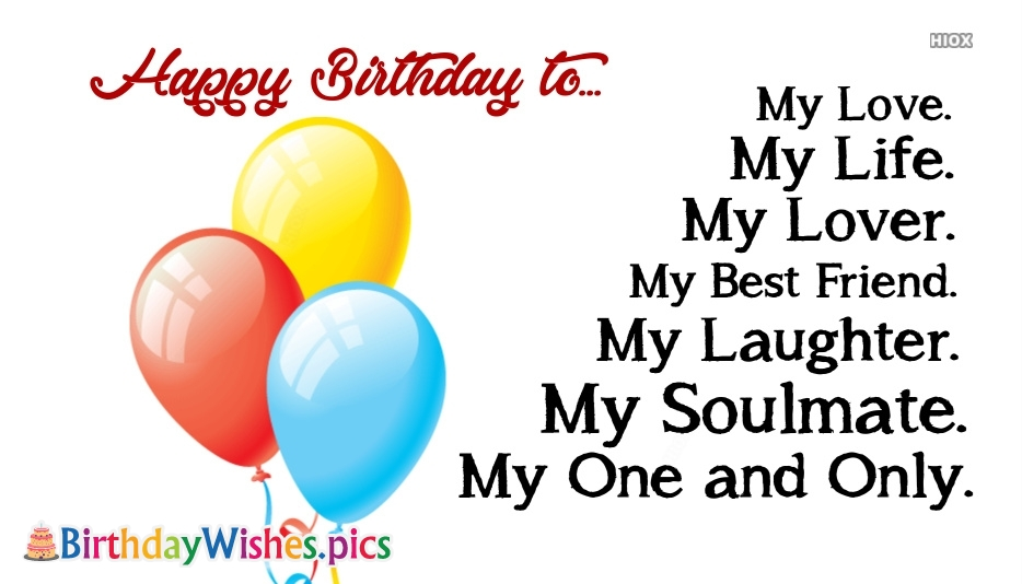 Birthday Wishes Images for My Heart