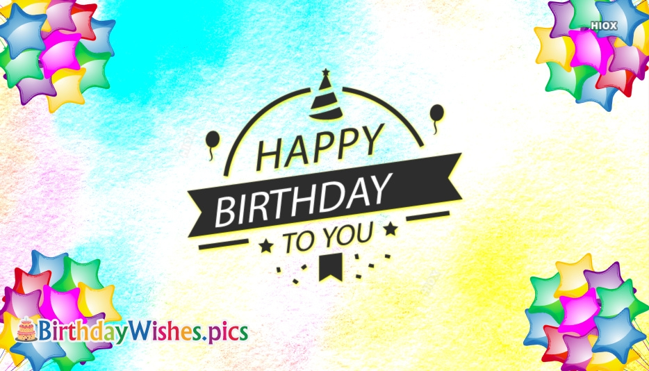 Happy Birthday Wishes Images For Facebook