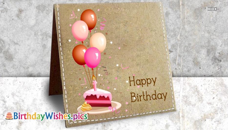 Happy Birthday Today