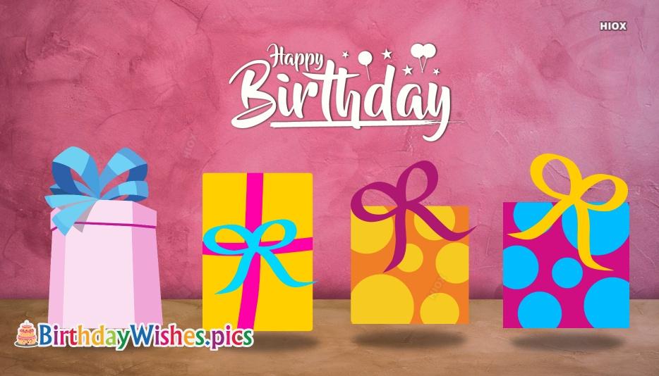 Happy Birthday Unique Wishes
