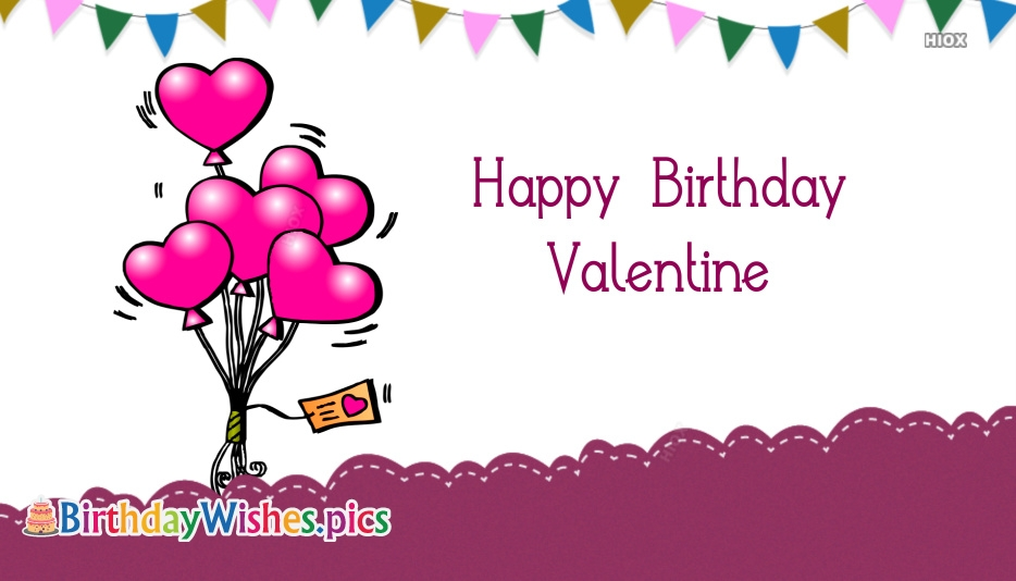 Happy Birthday Valentine
