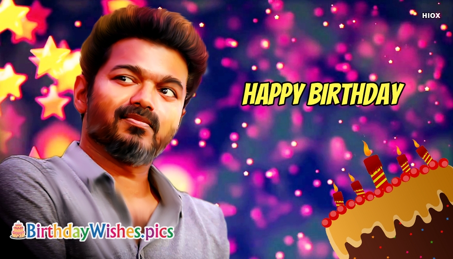 Happy Birthday Vijay Images