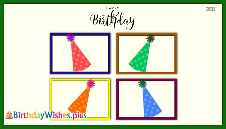 Happy Birthday Wishes Ecards