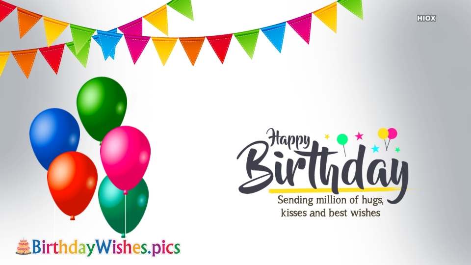 Birthday Wishes Images for Loved Ones