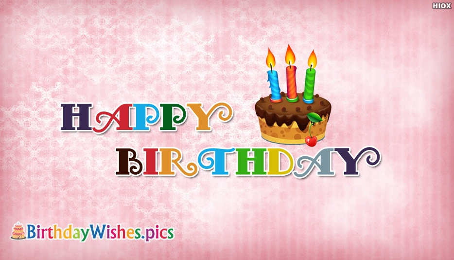 Simple Birthday Wishes Images