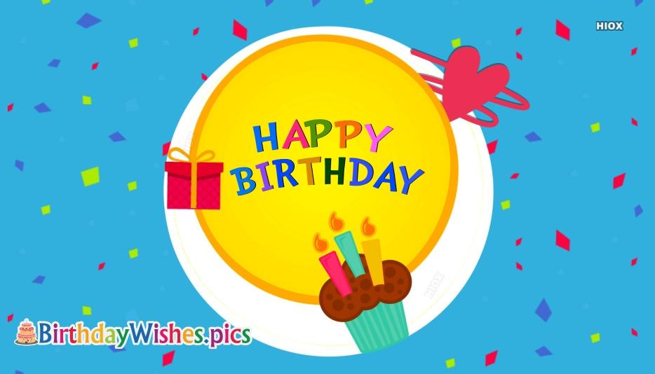 Happy Birthday Word