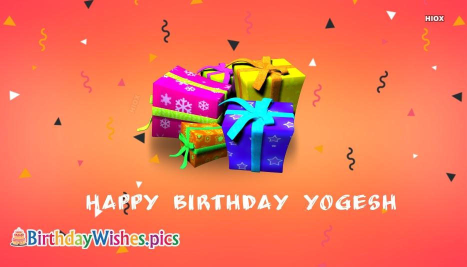 Happy Birthday Yogesh