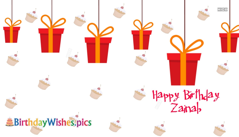 Happy Birthday Zainab