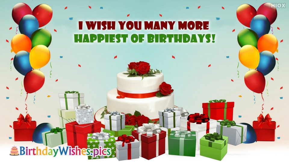Birthday Wishes Images for Greetings Message